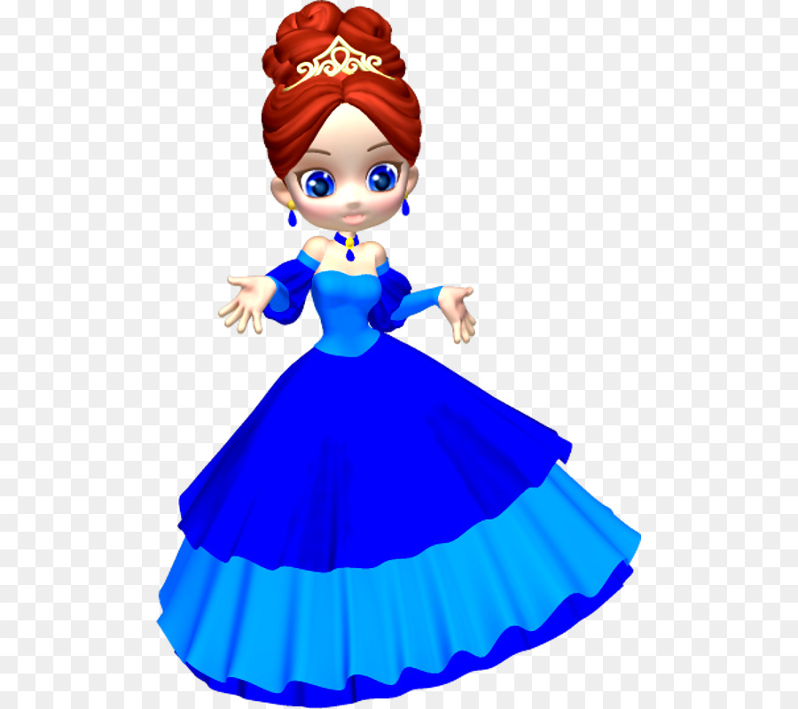 Princess Cartoon clipart.