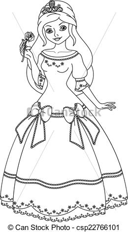 princess printable clipart Clipground