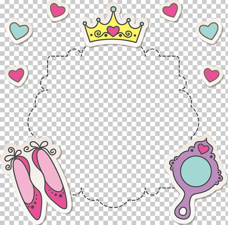 Princess clipart border design, Princess border design.