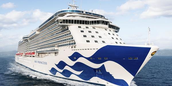 Sky Princess Cruise.