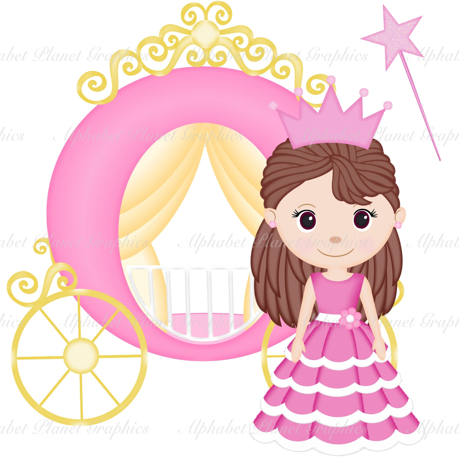 Free princess clipart the cliparts 2.