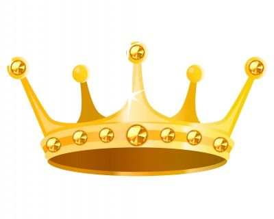 Prince And Princess Crown Clipart.