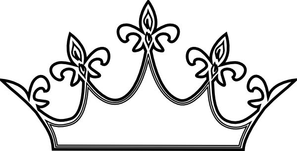 Crown black and white tiara black princess crown clipart.