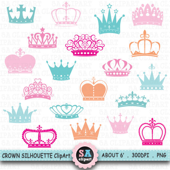 Crown Silhouette ClipArt