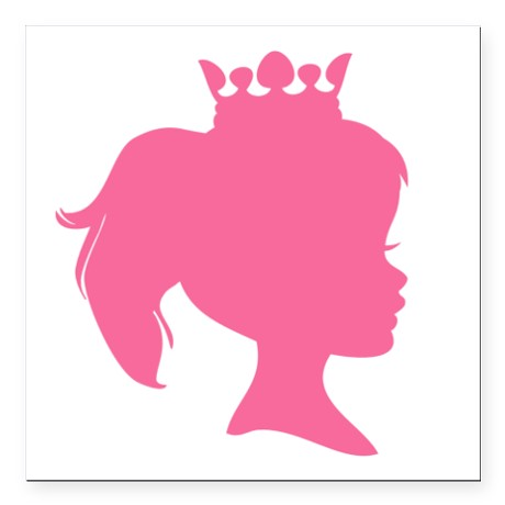 Purple Princess Crown Silhouette Pictures to Pin on Pinterest.