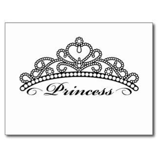 princess crown clipart vector #11