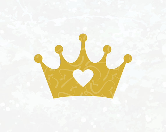 Princess Crown Svg Tiara Svg Monogram Tiara crown SVG.