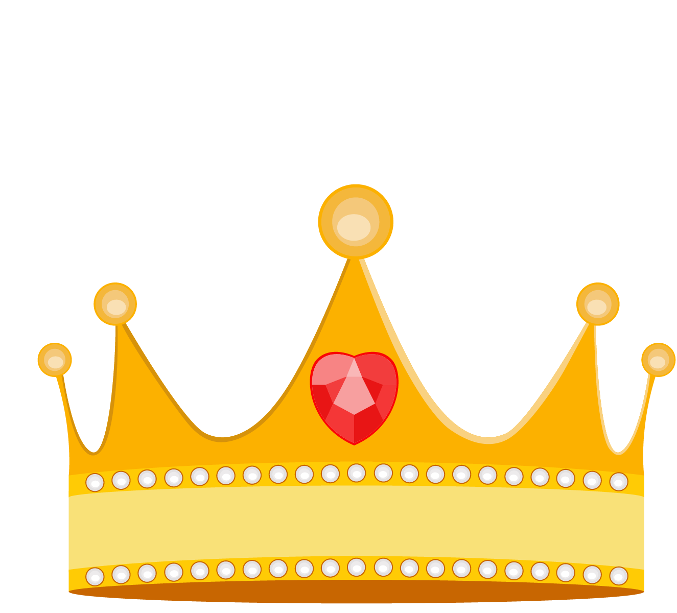 Cartoon princess crown vector material png download.