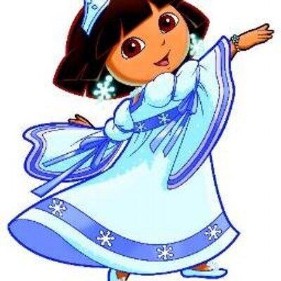 Dora Snow Princess (@SnowCostumes).