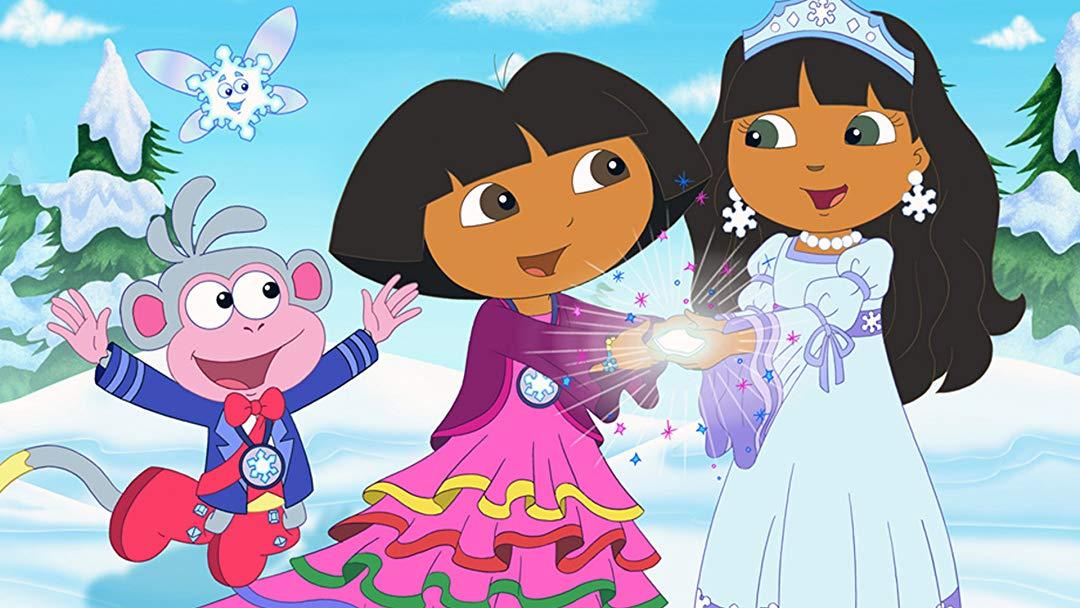Watch Dora Saves the Snow Princess.
