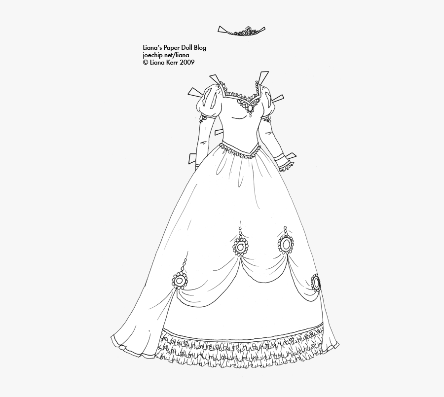 Masquerade Dresses Clipart Gown Black And White Costume.