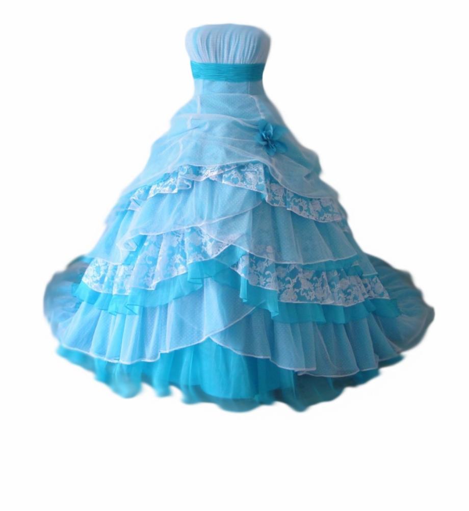 Princess Dress Transparent Background, Transparent Png.