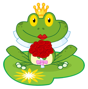 8460 Frog free clipart.