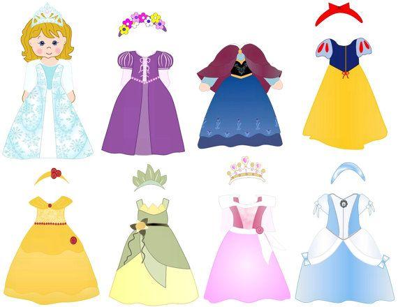 Disney Princess Dress Up.