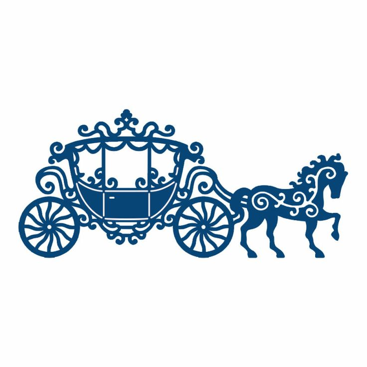 Free Cinderella Horse And Carriage Silhouette, Download Free.