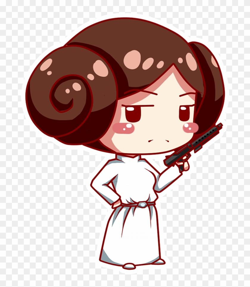Leia Drawing Pin Ups.