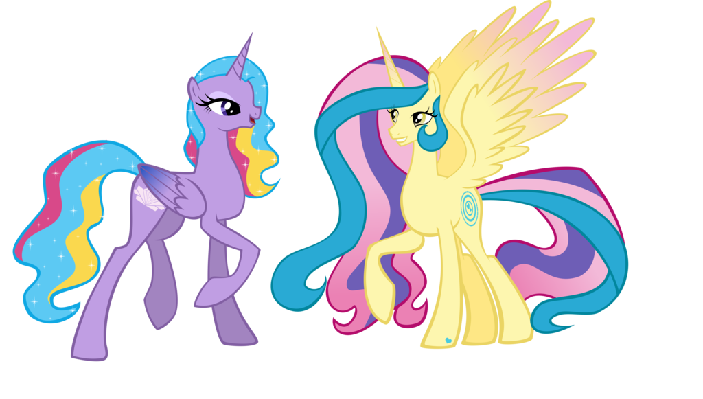 Princess Sterling And Princess Gold Lily by xebck on DeviantArt.