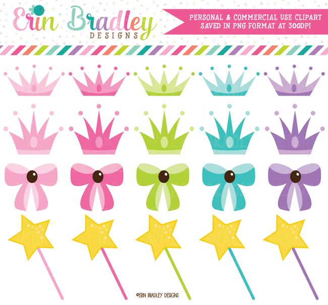 Princess Party Clipart.