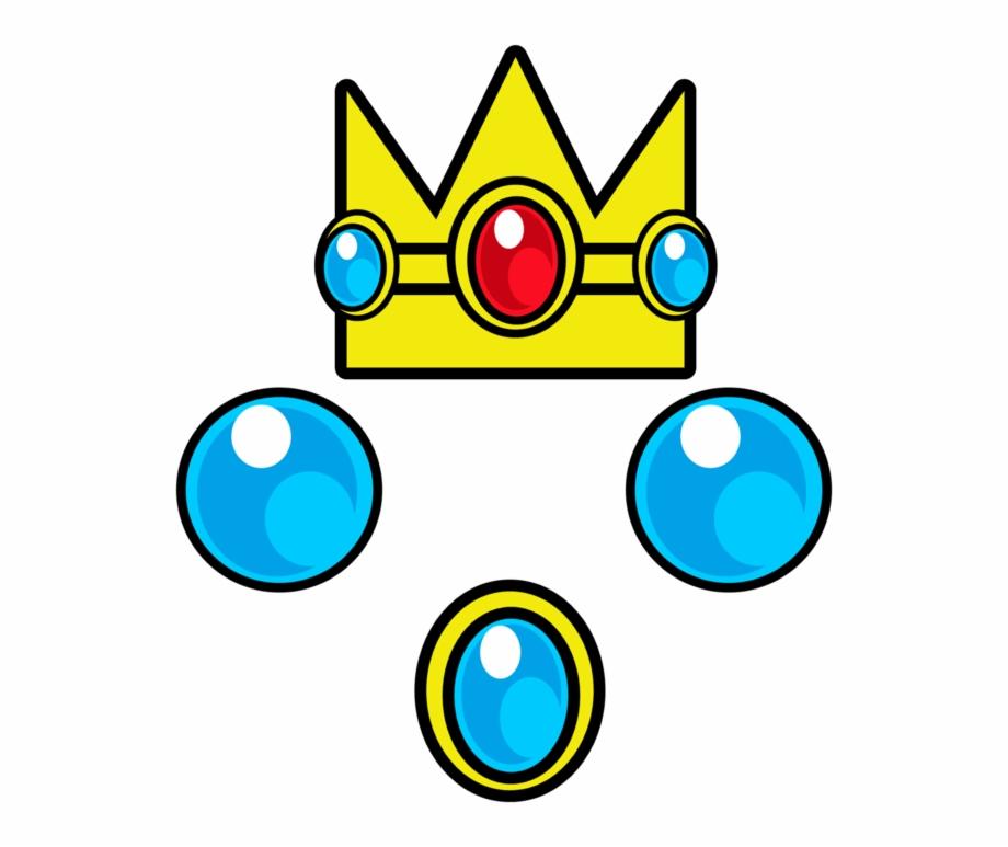 Princess Peach Clipart Crown.