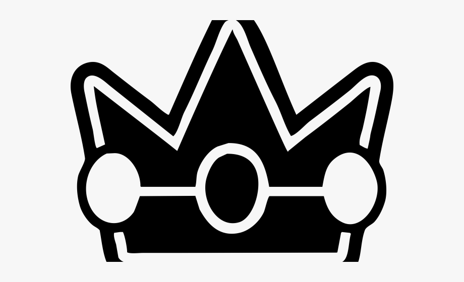 Princess Peach Clipart Crown.