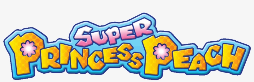 Super Princess Peach Logo.