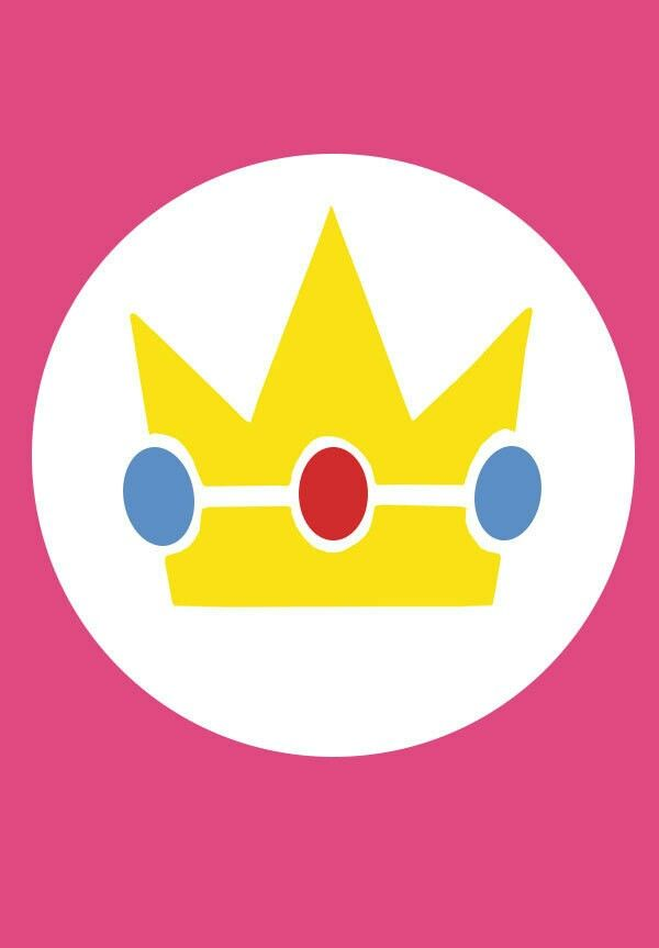 Princess Peach symbol in 2019.