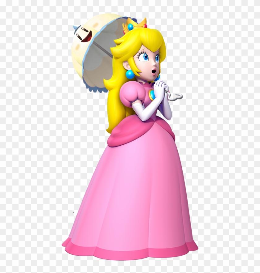 Princess Peach Png Clipart.