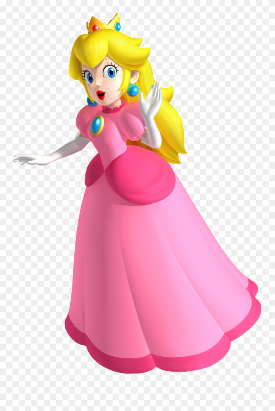 Princess Peach Clipart Fantendo.