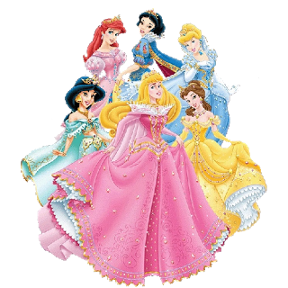 Disney Princesses PNG Transparent Images.
