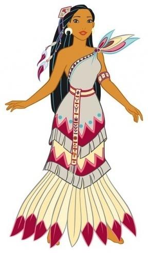 Princess Pocahontas Clipart Clipground