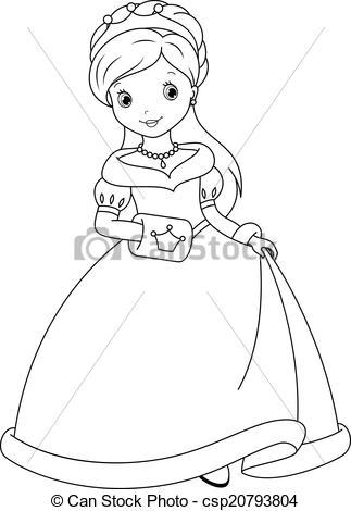 princess printable clipart Clipground