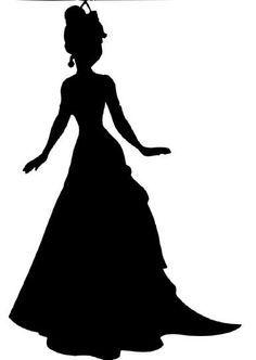 disney princess silhouette.