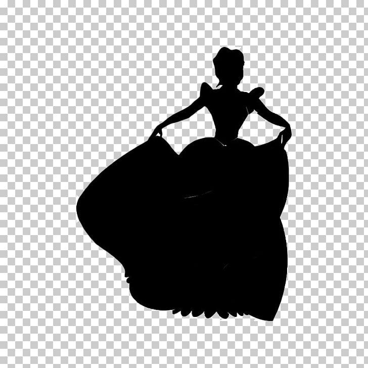 Cinderella Disney Princess Silhouette Prince Charming.