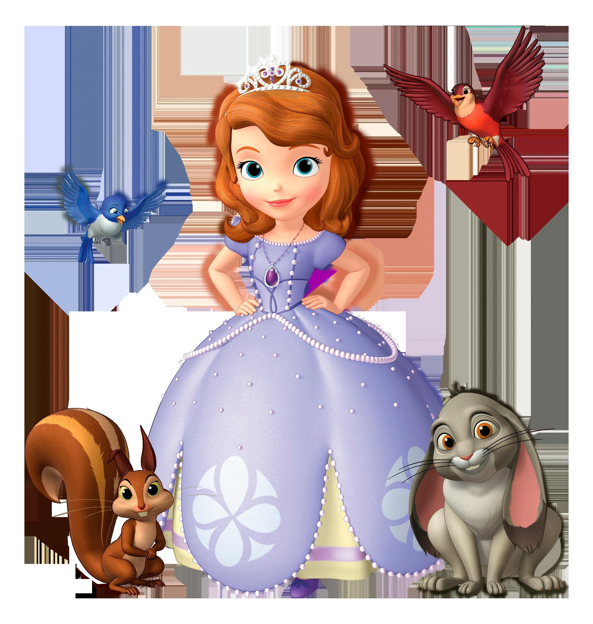 Princess Sofia PNG Clip Art Image.