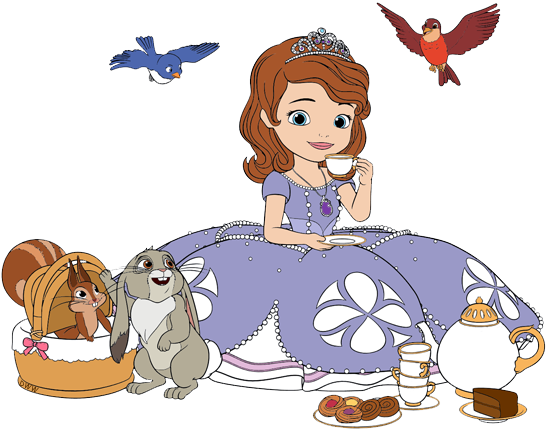 Sofia the First Clip Art.