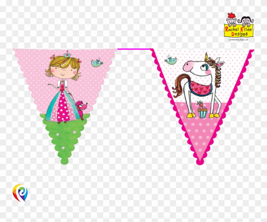 Rachel Ellen Designed Partyware Princess Theme.