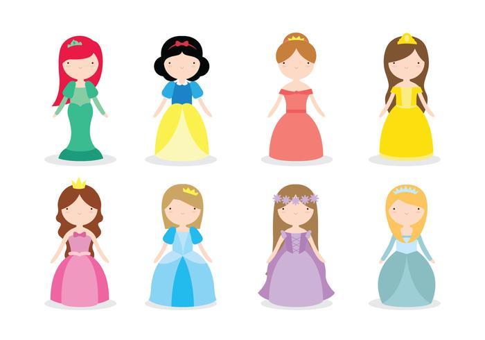 Princess Vectors.
