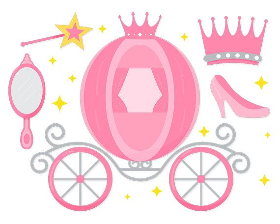 Fairytale Princess clipart Fairytale clipart by ClipArtKiwi.