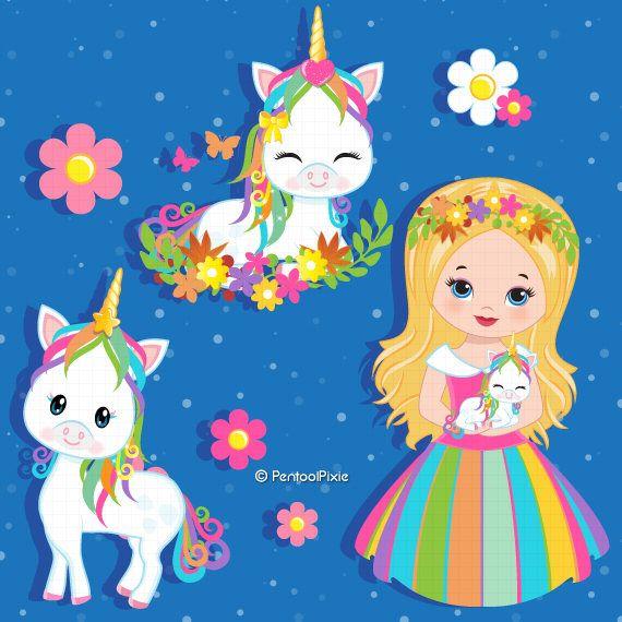 Unicorn Clipart Unicorn Princess Unicorn Clip Art Pony.