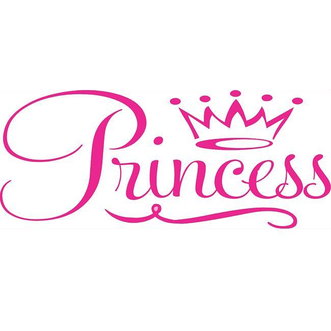 Princess Word Silhouette.