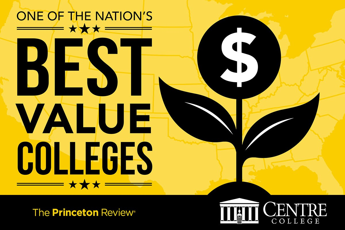 Centre listed in Princeton Review best value publication.