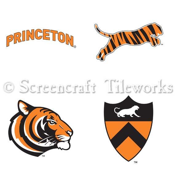 Princeton University Athletics Logo Mixed Set.