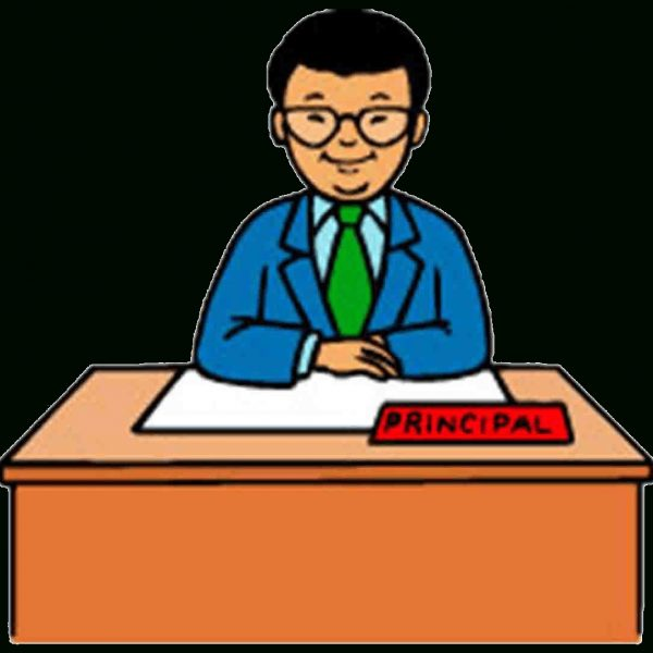 School Principal Office Clip Art Stock.