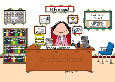 School Principal Office Clipart.