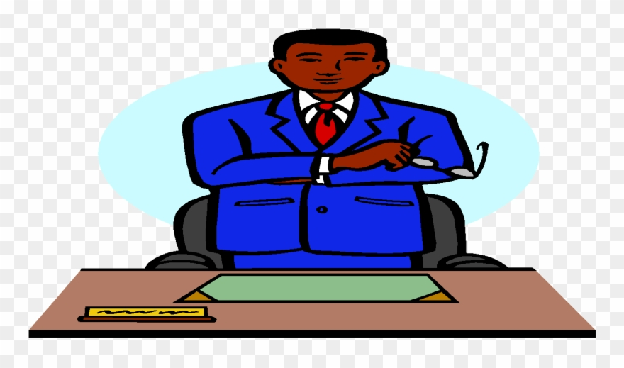 Conference Clipart School Administrator.