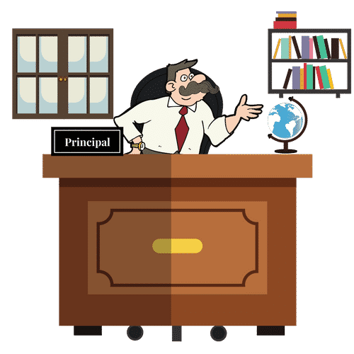 Desk clipart principal desk, Desk principal desk Transparent.