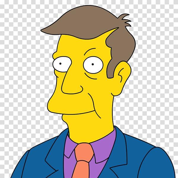 Principal Skinner Homer Simpson Bart Simpson Lisa Simpson.