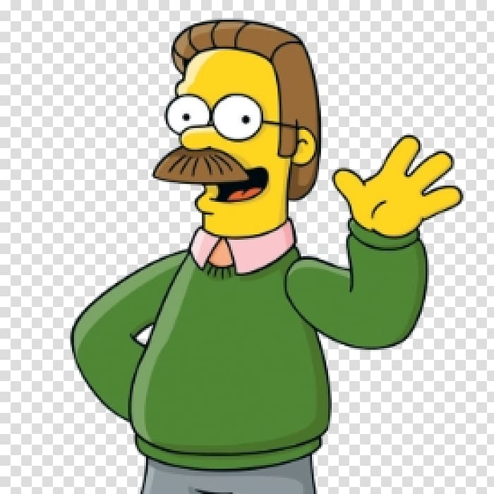 Ned Flanders Mr. Burns Homer Simpson Principal Skinner Apu.