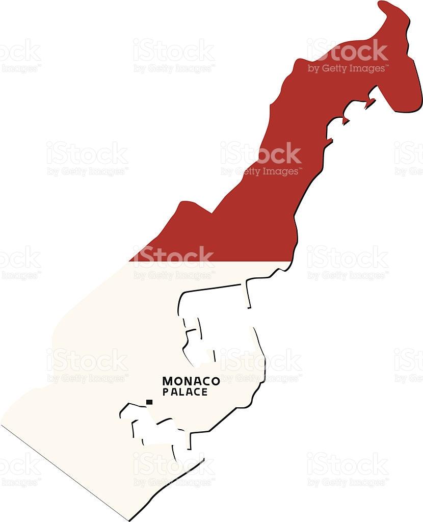 Principality Of Monaco Flag stock vector art 466922489.