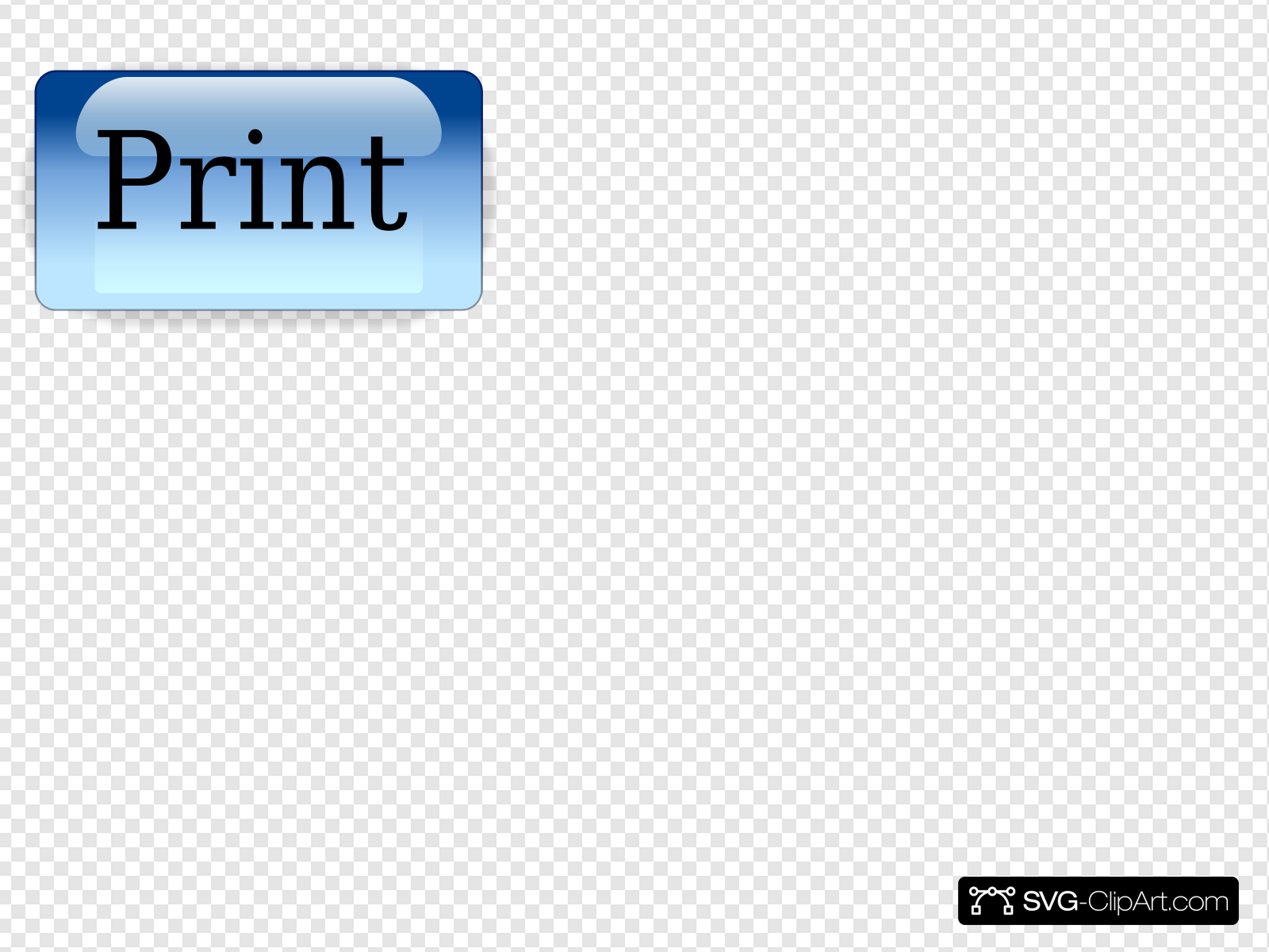 Print Button Clip art, Icon and SVG.